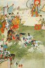 中国现代人物0195,中国现代人物,山水名画,比武 古代美女 杨氏