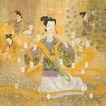中国现代人物0201,中国现代人物,山水名画,宫女 古装 采摘