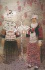 中国现代人物0203,中国现代人物,山水名画,苗族 银饰 传统服装