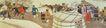中国现代人物0208,中国现代人物,山水名画,赶集 集市 塞外风情