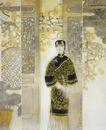 中国现代人物0212,中国现代人物,山水名画,彩画 中国古代人物