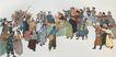 中国现代人物0228,中国现代人物,山水名画,市民 生活场景