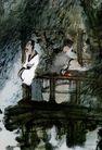 傅抱石作品集0086,傅抱石作品集,中国传世名画,相传 人物 形态