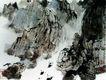 傅抱石作品集0095,傅抱石作品集,中国传世名画,山峡 江水 扁舟