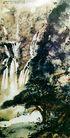 傅抱石作品集0104,傅抱石作品集,中国传世名画,高山 流水 绿树