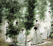 傅抱石作品集0112,傅抱石作品集,中国传世名画,孔夫子 名画 长袍