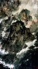 傅抱石作品集0114,傅抱石作品集,中国传世名画,泼墨画 中国画 山腰