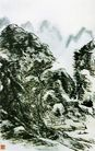 黄宾虹作品集0062,黄宾虹作品集,中国传世名画,山水画 浑厚 笔墨