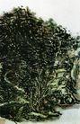 黄宾虹作品集0065,黄宾虹作品集,中国传世名画,文气 境地 浑厚华滋