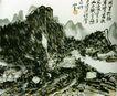 黄宾虹作品集0099,黄宾虹作品集,中国传世名画,山路 小径 人家