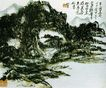 黄宾虹作品集0101,黄宾虹作品集,中国传世名画,小屋 山峰 河边