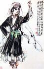 黄胃作品集0072,黄胃作品集,中国传世名画,舞蹈 美丽 身姿