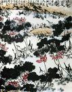 李苦禅作品集0065,李苦禅作品集,中国传世名画,池塘 莲花 盛开