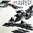 李苦禅作品集0068,李苦禅作品集,中国传世名画,李苦禅 画作 名画