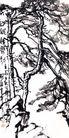 刘海粟作品集0112,刘海粟作品集,中国传世名画,刘海粟 树 石头