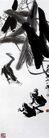 齐白石作品集0077,齐白石作品集,中国传世名画,青蛙 玩耍 群落