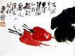 齐白石作品集0093,齐白石作品集,中国传世名画,书画 色彩 自然