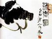 齐白石作品集0094,齐白石作品集,中国传世名画,笔墨 荷叶 叶子