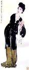 徐悲鸿作品集0096,徐悲鸿作品集,中国传世名画,仕女 歌唱 表演