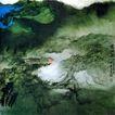 张大千作品集0010,张大千作品集,中国传世名画,山野 荒地 自然