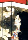 张大千作品集0028,张大千作品集,中国传世名画,女性 长发 张大千作品