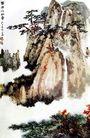 张大千作品集0037,张大千作品集,中国传世名画,松树 名胜 景点