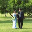 等待幸福0022,等待幸福,婚纱摄影,新婚 夫妇 草地