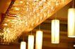 餐厅空间0026,餐厅空间,室内,琳琅满目 玻璃杯 灯具