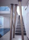 阁楼空间设计0388,阁楼空间设计,阁楼―楼梯,
