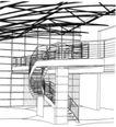 楼梯设计0258,楼梯设计,阁楼―楼梯,