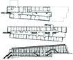 格陵兰0006,格陵兰,世界建筑设计,三个建筑 图纸 平行很像机器人