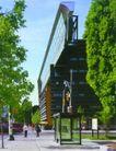 加拿大0014,加拿大,世界建筑设计,绿叶 人行道 过马路