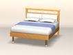 床0002,床,北欧风格家具,