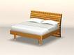 床0003,床,北欧风格家具,
