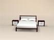 床0010,床,北欧风格家具,