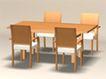 组合0002,组合,北欧风格家具,
