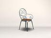 椅子0019,椅子,美国乡村风格,