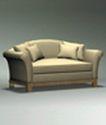 沙发0096,沙发,美国乡村风格,