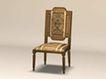 椅子0002,椅子,欧洲古典风格,