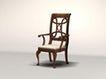 椅子0019,椅子,欧洲古典风格,