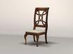 椅子0020,椅子,欧洲古典风格,