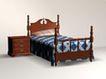 复古风格床0013,复古风格床,欧洲古典风格,