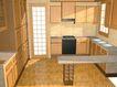 橱柜0036,橱柜,厨卫模型,