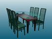 幽雅家居-桌椅0023,幽雅家居-桌椅,家居系列,