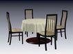 椅子0217,椅子,现代家具,