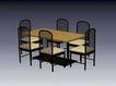 椅子0221,椅子,现代家具,