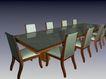 椅子0223,椅子,现代家具,