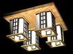 吸顶灯0015,吸顶灯,家具装饰,