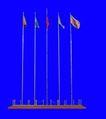 旗帜0009,旗帜,户外小品,