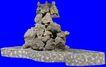 假山石头0123,假山石头,假山与喷水池,